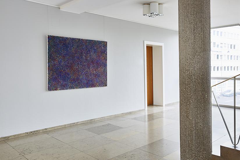 Helga Mols,Random Blau, 2016