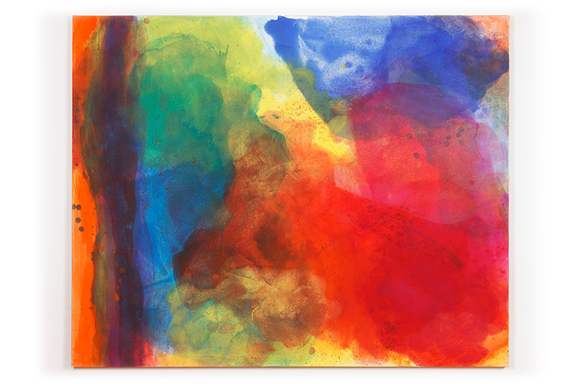 Helga Mols: Strange Loops Fläche, 2011, 120 x 150 cm